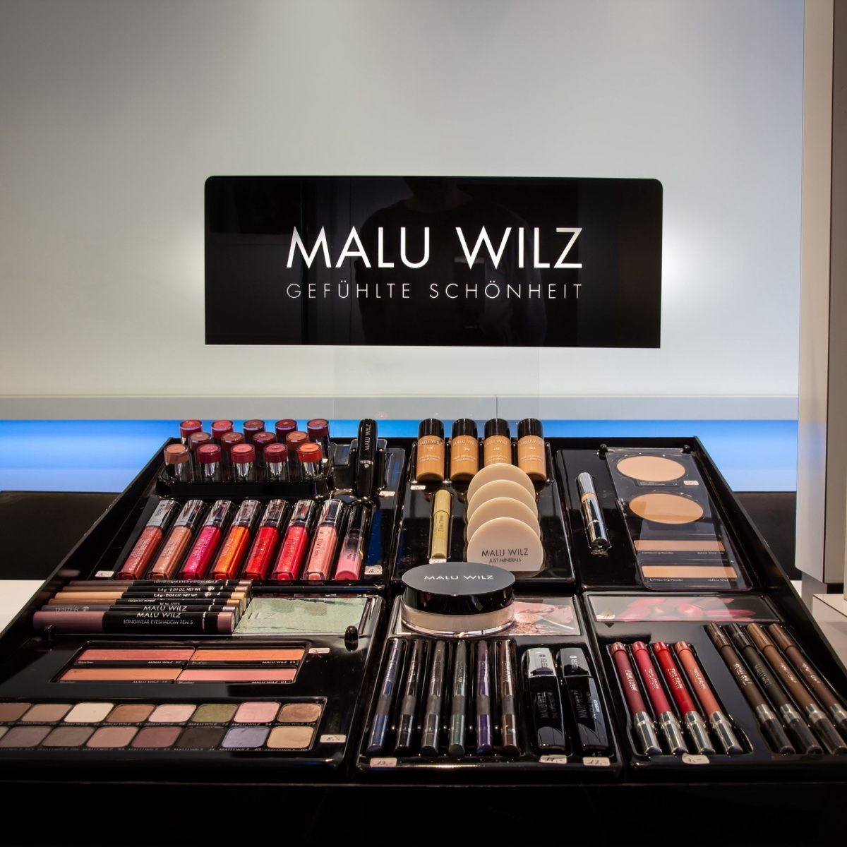 Make-up producten Malu Wilz